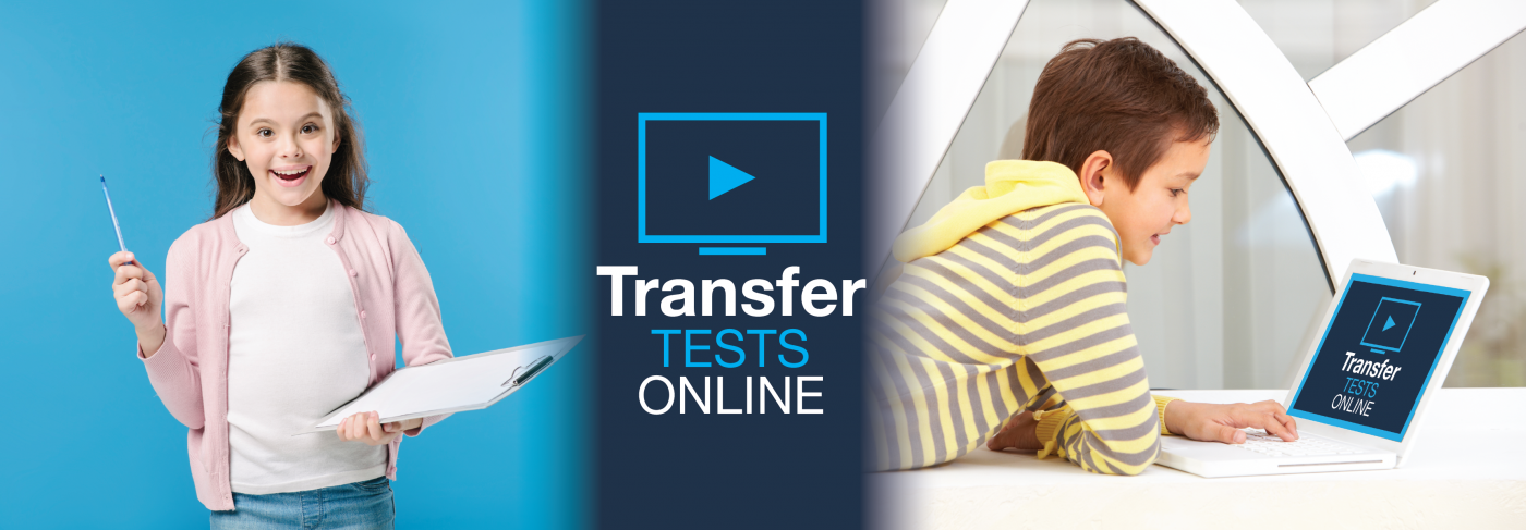 Online Transfer Tests banner image